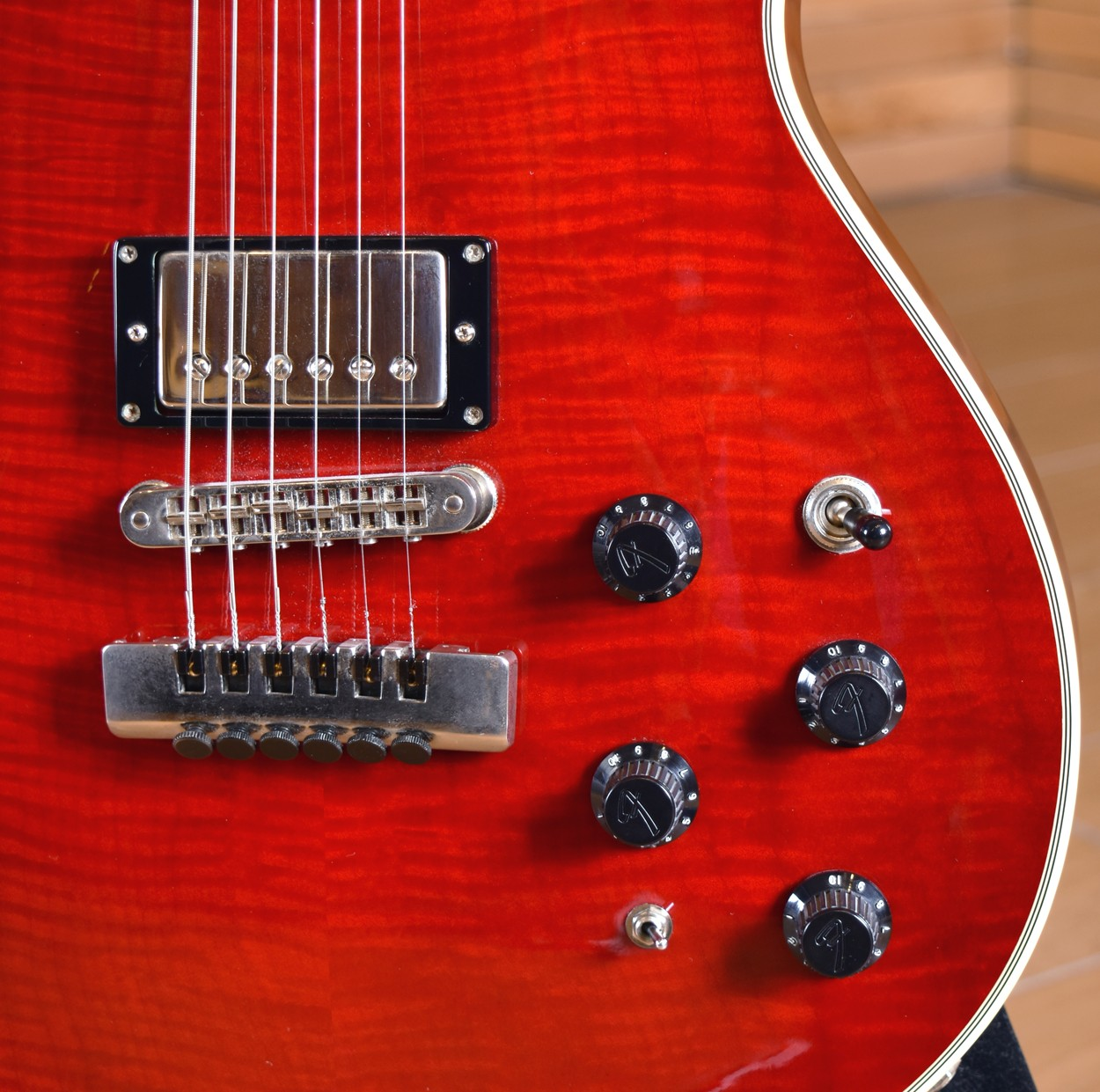 Fender Custom Shop Robben Ford Elite Fm Crimson Red 1996