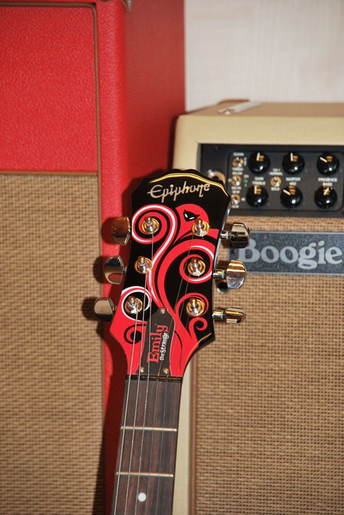 Epiphone Sg Emily The Strange Limited Edition