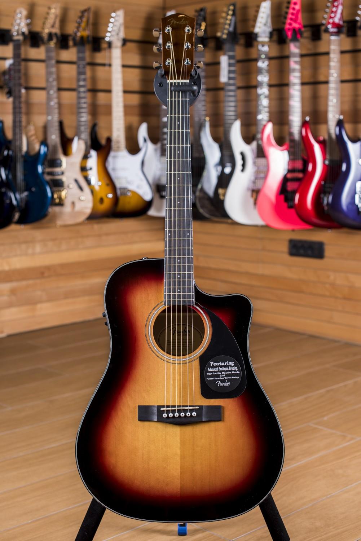 Fender CD60CE Sunburst