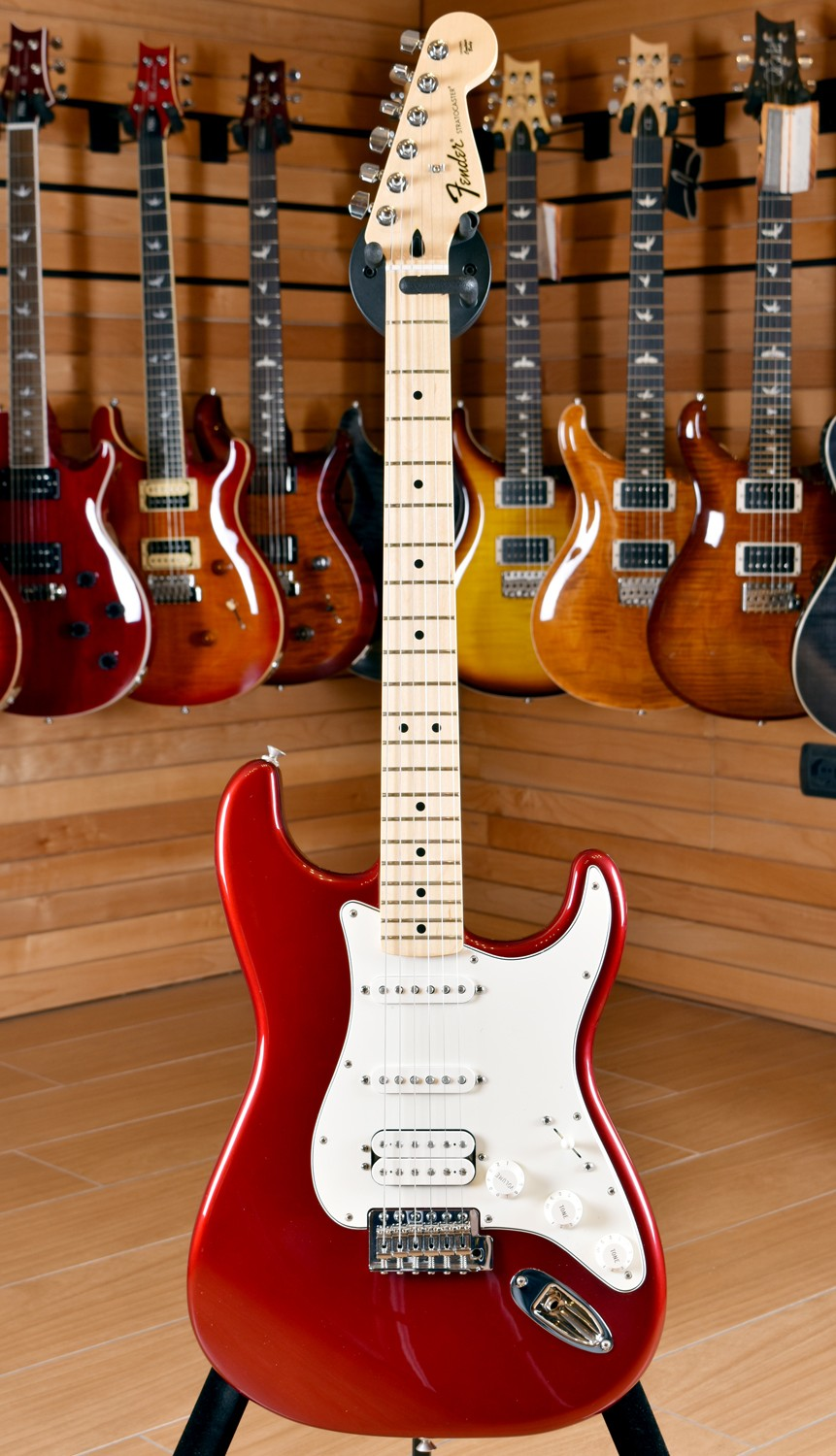 Fender Mexico Standard Stratocaster Hss Maple Neck Candy