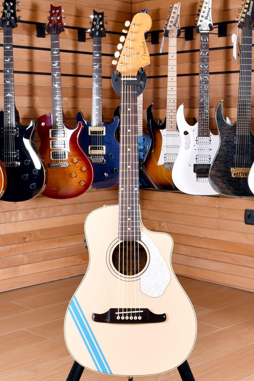 Fender FSR Malibu CE Mustang Olympic White