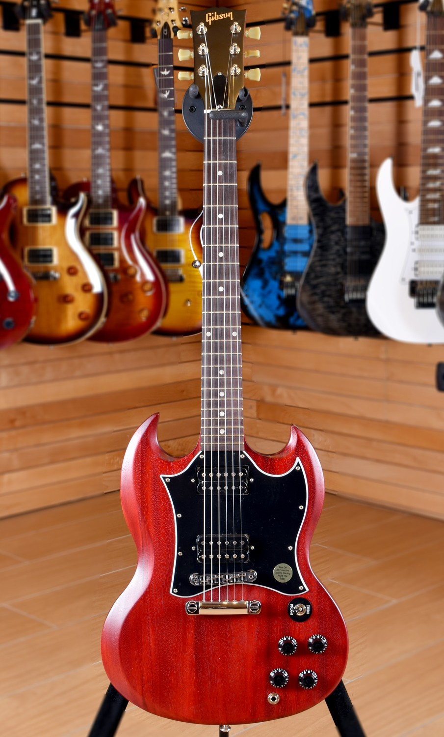 Gibson SG Faded 2016 T Worn Cherry