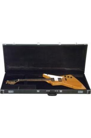 Rockbag RC10620B/4 Blk Case Standard per Chitarra Gibson Explorer