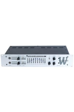 W Amp 300 Head - passive and active inputs, 300 Watt,