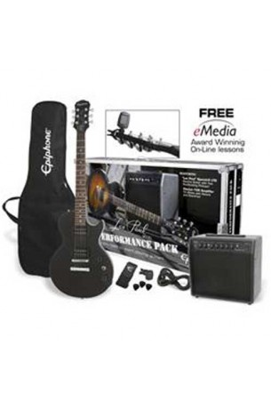 Epiphone Player Pack Special II Ebony New Model