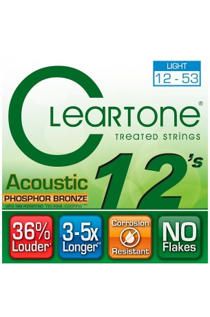 Cleartone 012/053 Acoustic Strings