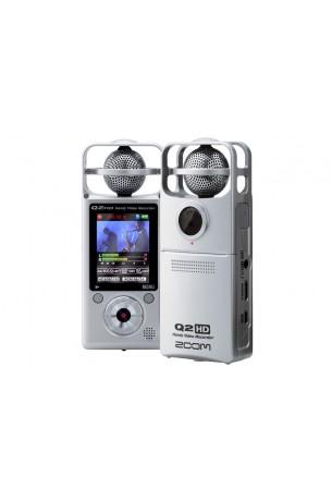 Zoom Q2HD Silver Registratore Digitale