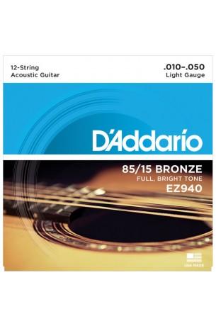 D'Addario EZ940 12 Corde 010/050