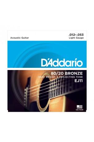 D'Addario EJ11 012/053