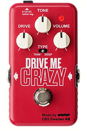 EBS Drive Me Crazy (Blue Label New '17) Distortion/Overdrive