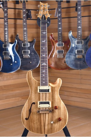 PRS Paul Reed Smith SE Custom 22 Semi-Hollow Zebrawood Ltd. Edition