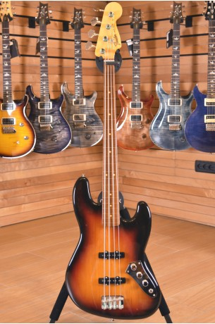 Fender Jaco Pastorius Bass Fretless 3 Color Sunburst