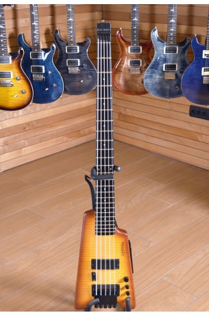 Steinberger Synapse XS-15FPA Custom Bass Trans Amber