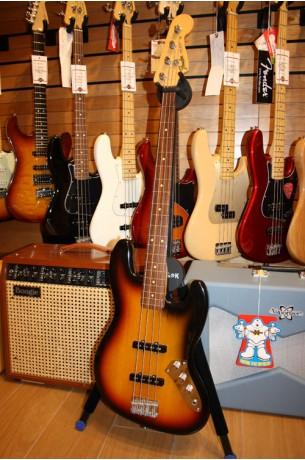 Fender Artist Series Jaco Pastorius Jazz Bass 3 Color Sunburst