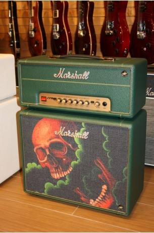 Marshall Custom Shop Tattoo JVM1-H & C110 Green Antony Flemming