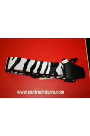 Get'm Get'm Tracolla Zebra White 2