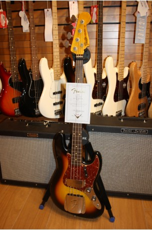 Fender Custom Shop Jazz Bass '60 Relic 3 Color Sunburst