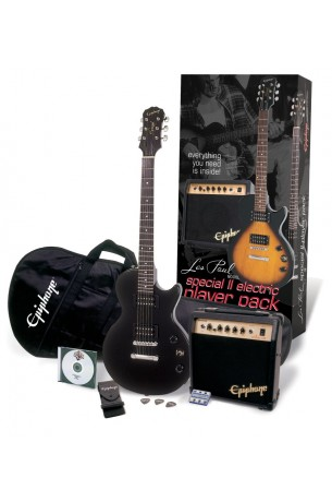 Epiphone Player Pack Special II Ebony