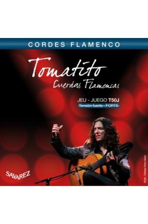 Savarez T50J Flamenco Tomatito