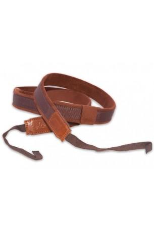RightOn! Dual Hook Ukulele Brown Strap